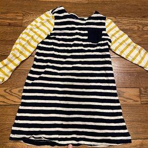 Striped baby gap dress, size 4 Toddler